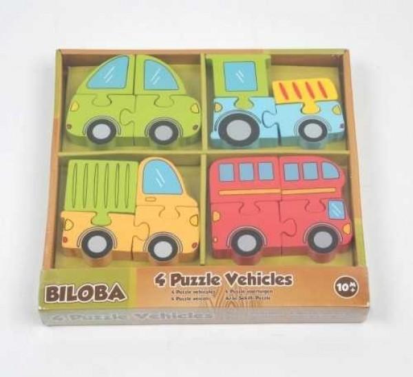 4 Vehicule Puzzle