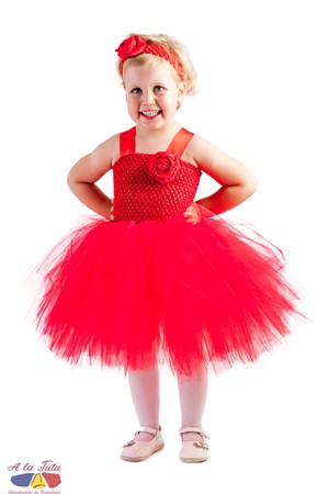 Rochita tutu Lady in red 2