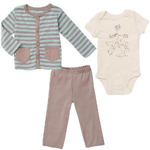 Set bebelusi-baieti din Bumbac ORGANIC