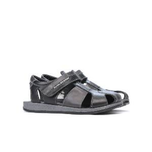 Sandale copii 324 negru+gri