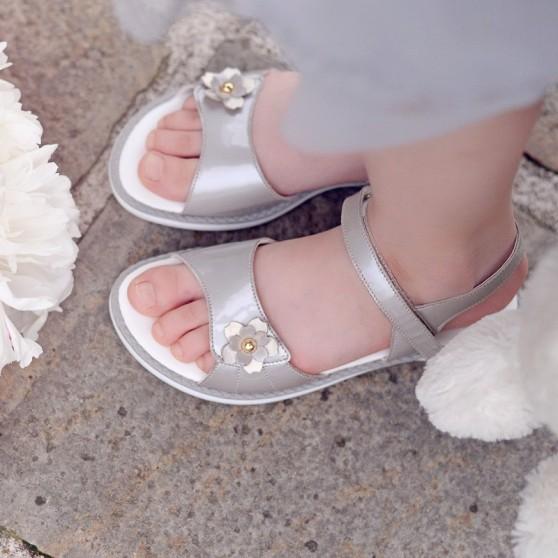 Sandale copii 524 lac gri