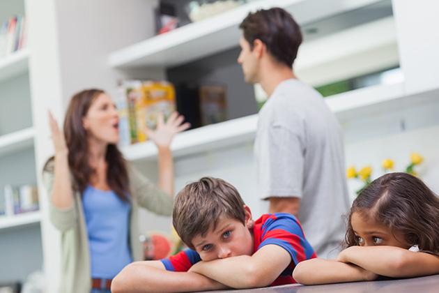 copii afectati de cearta dintre parinti