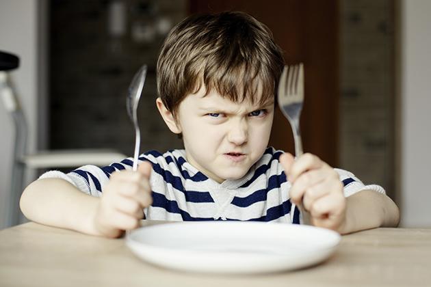 crize de furie copil