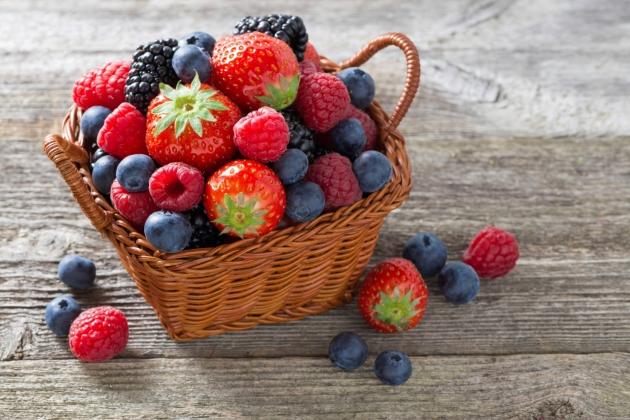 fructe padure