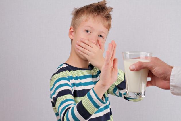 simptome ale alergiei la lapte