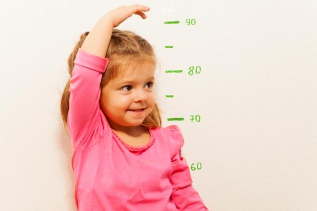 grafic crestere copii
