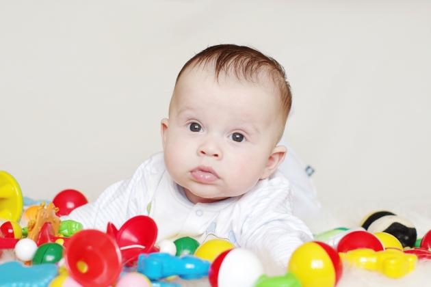 bebelusul la 4 luni