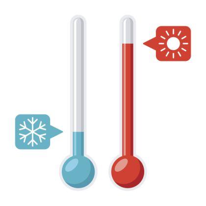 diferentele mari de temperatura