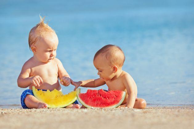 ghidul alimentatiei bebelusului cand este canicula