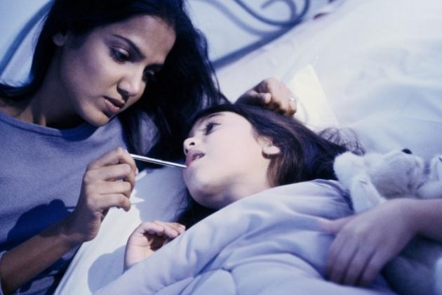 copilul are febra