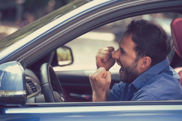 studii despre stresul in trafic