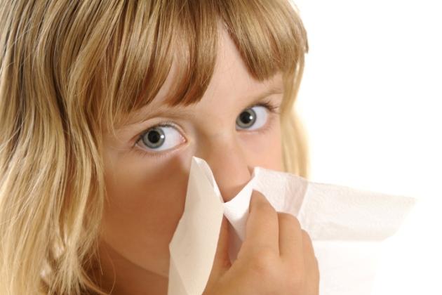 nasul infundat la copii