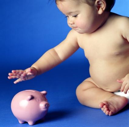 cum sa economisesti bani cand ai un bebelus