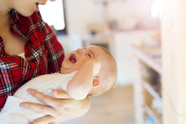 sughitul bebelusului