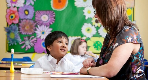educatoare copil