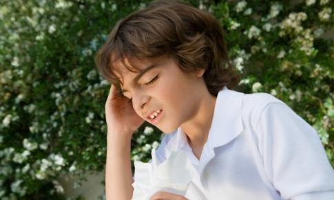 copil cu dureri de cap