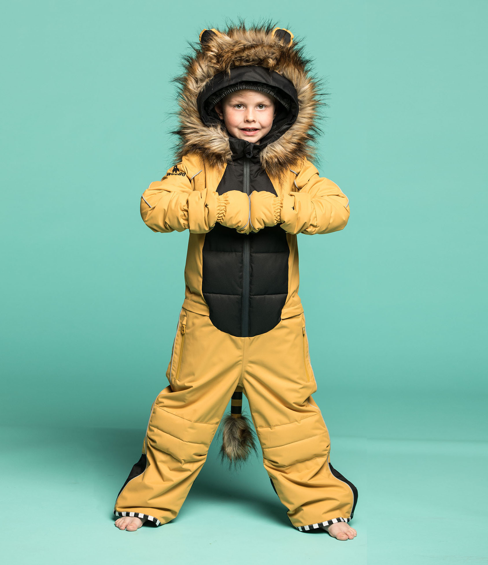 costum de schi lion by weedo funwear