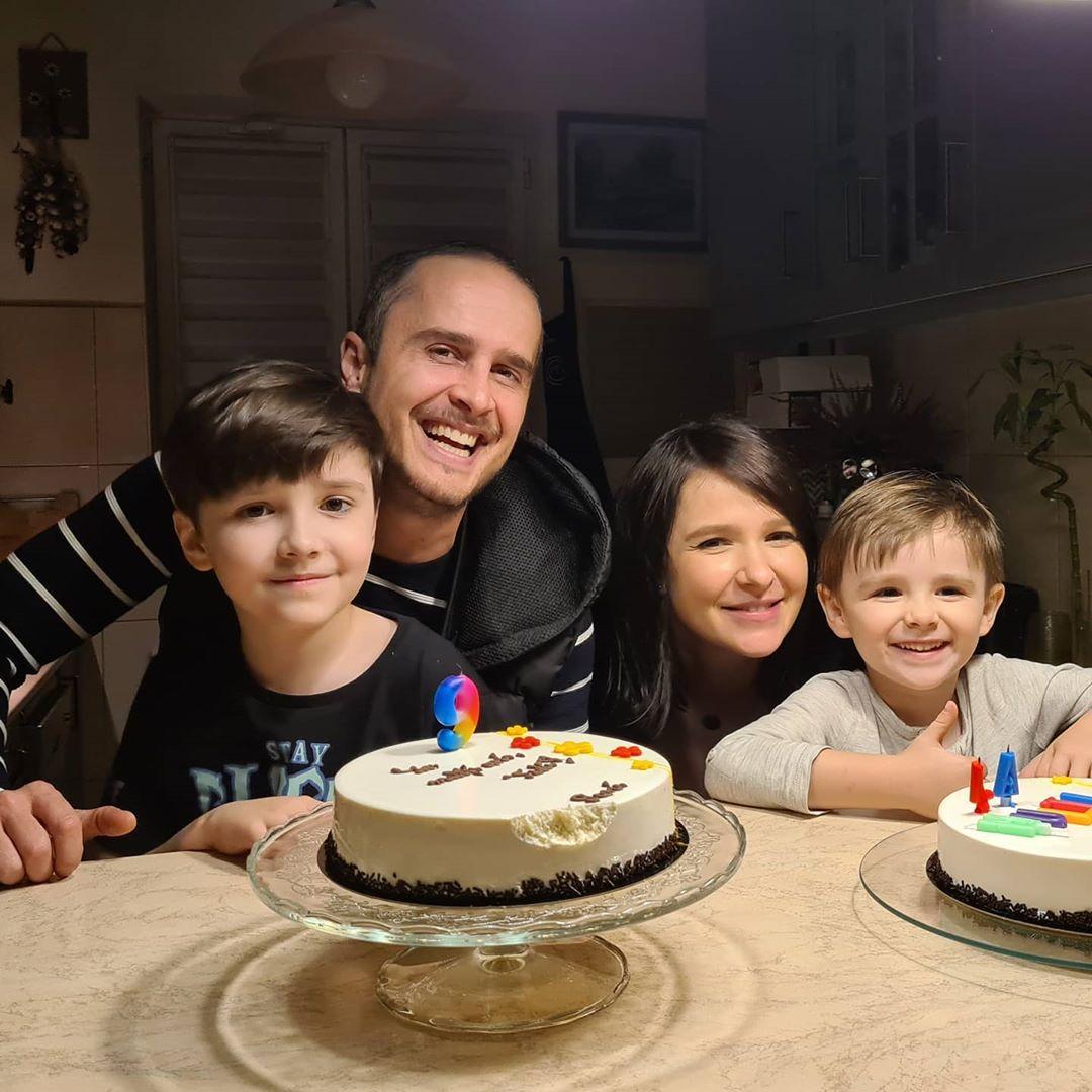 serban copot, roxana si cei doi copii