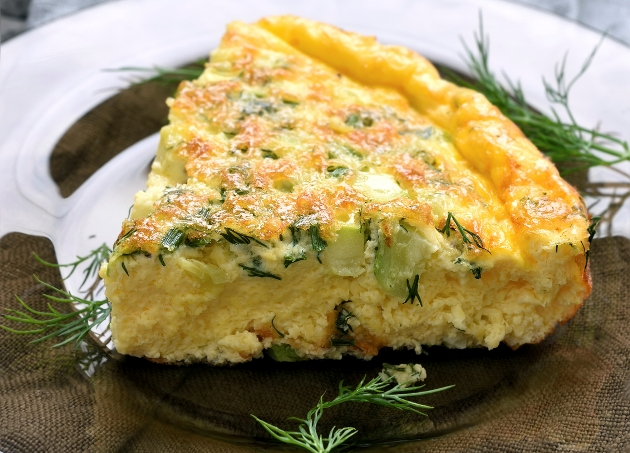 asparagus omlette