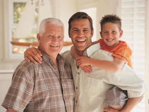 Bunic, tata si fiu