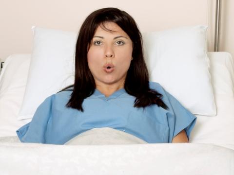 Femeie in travaliu