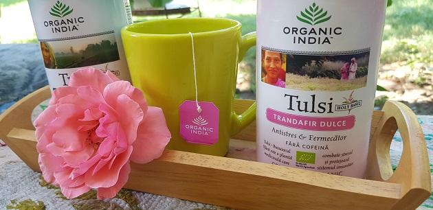 ceai organic india