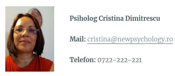 psiholog cristina dimitrescu