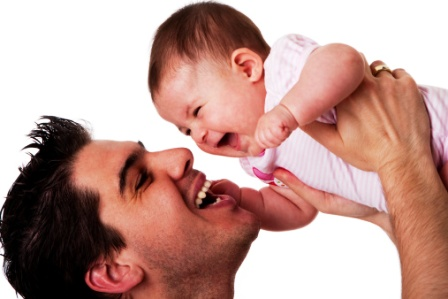 poza tata si bebe