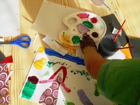 poza ora de desen Montessori