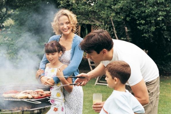 poza familia la picnic