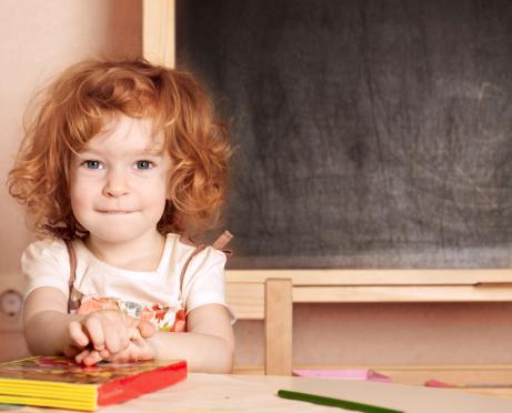 poza fetita la scoala