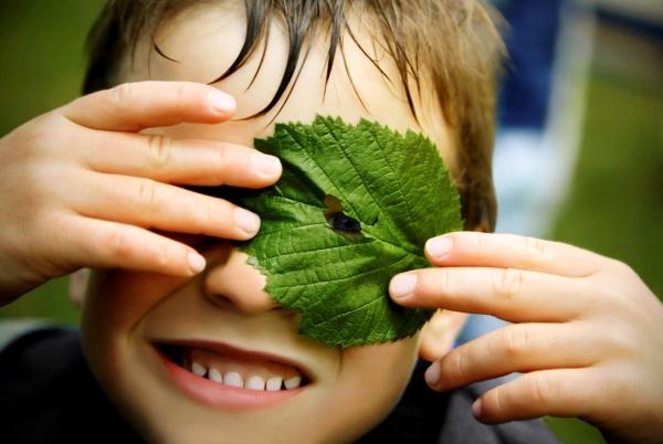 poza copil in natura