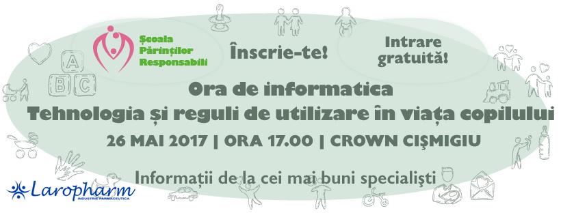 seminar gratuit pentru parinti