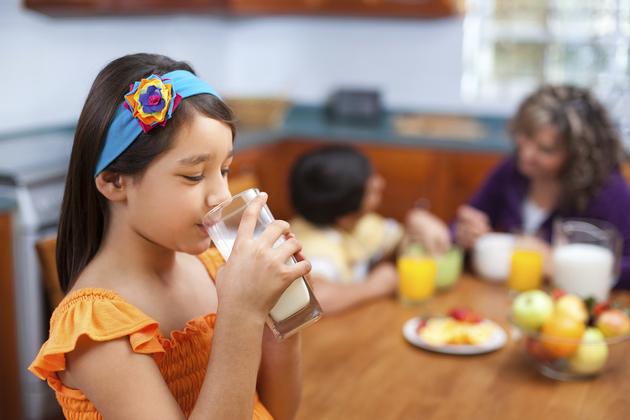 Laptele in alimentatia copiilor