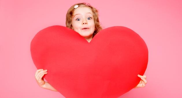 copil cu inima