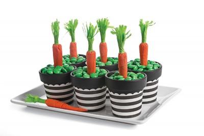 ghivece cu morcovi
