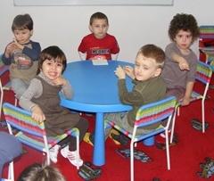 copii la gradinita