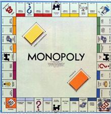 poza cu joc monopoly
