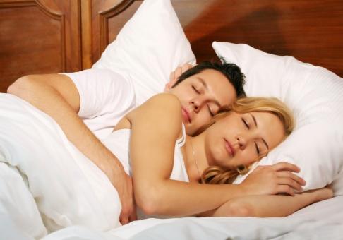Cuplu dormind