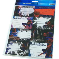 Etichete scolare Spiderman