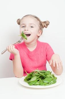spanacul in alimentatia copilului