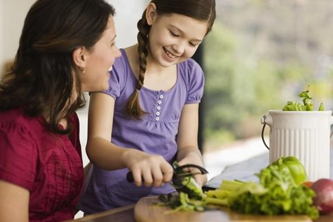 verdeturi in alimentatia copilului