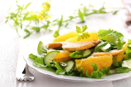 salata de portocale si castraveti