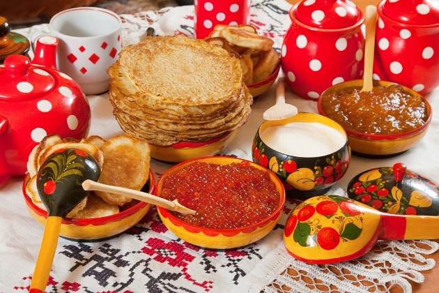 micul dejun in rusia