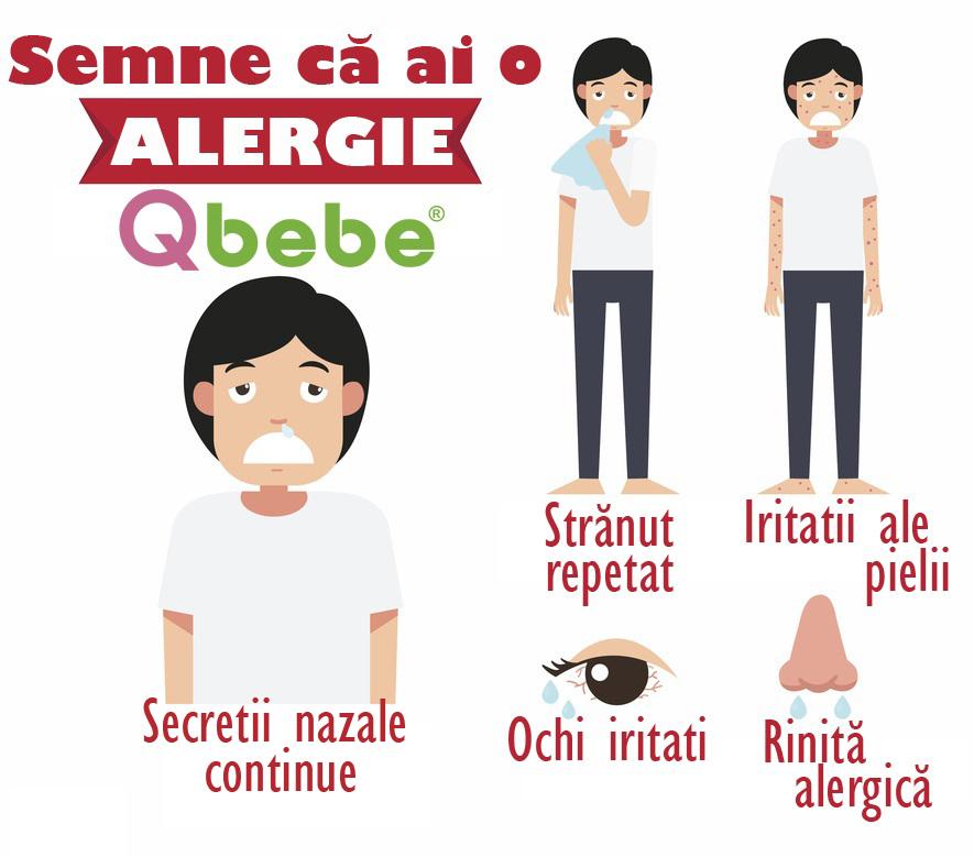 semne ca ai alergie