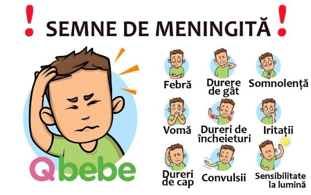 semne de meningita