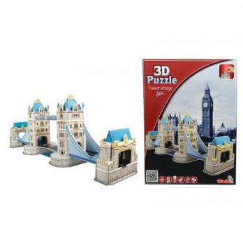 Puzzle 3D - 41 Piese Tower Bridge - Anglia